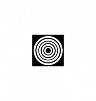 Moule Silicone Sucre Coulé Cercle pour Support 5pcs