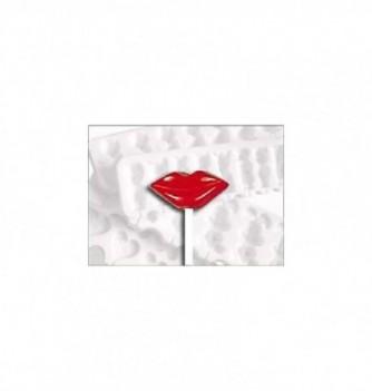 Silicone mold lollipops 12 lips