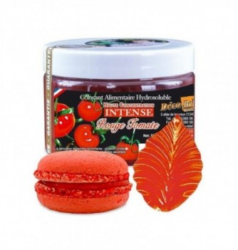 Colorant Alimentaire en Poudre Hydrosoluble Rouge Tomate...