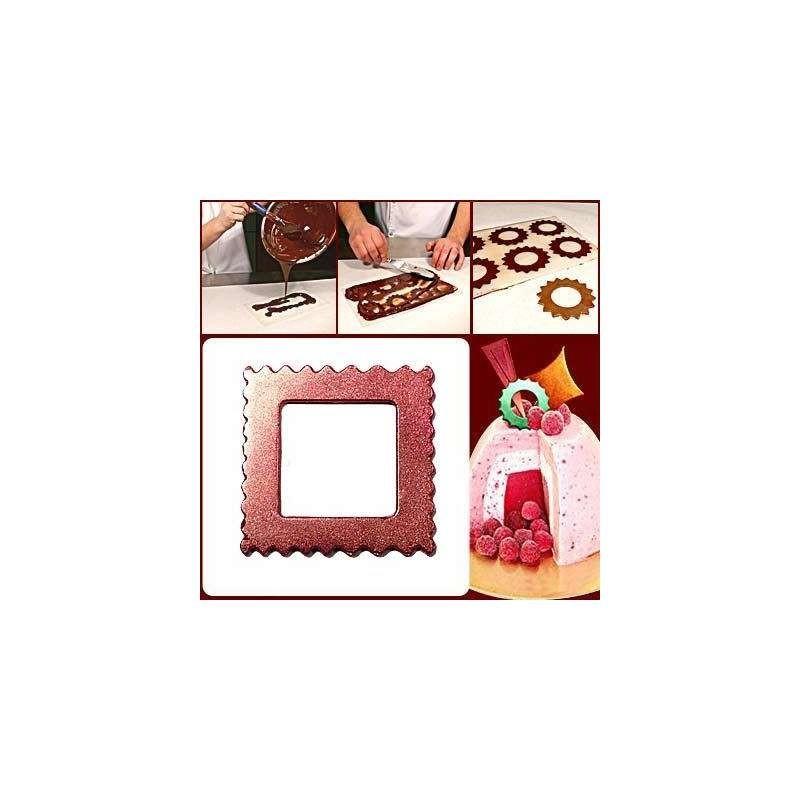 Moule chocolat pere noel avec enfant-220mm