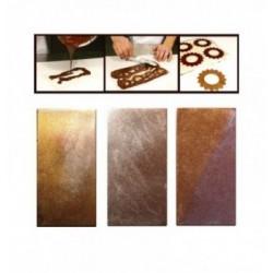 Moule chocolat noël sabot rustique-160mm
