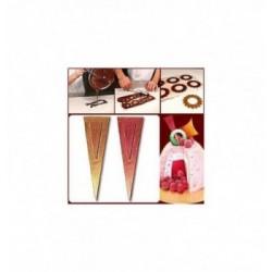 Moule chocolat coeur uni-150mm