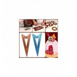 Moule Chocolat Chat Ruban