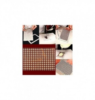 Plastic mold squares 165x115mm 1pc
