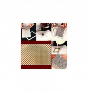 Plastic mold grid 165x115mm 1pc