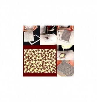 Moule Chocolat pour Décoration Plaque Papillons