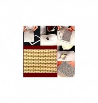 Moule Chocolat pour Décoration Plaque Mur
