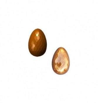 Chocolate mold 8 diamond-75mm eggs