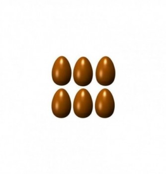 Chocolate mold 24 40mm smooth-eggs