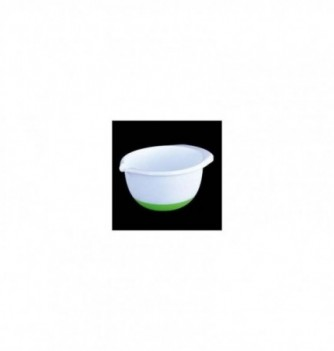 Plastic bowl with Non-skid Silicone Bottom 2,8l diam.210mm