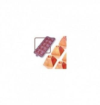 Silicone mold choco decoflex pyramid