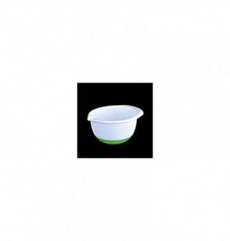 Plastic bowl with Non-skid Silicone Bottom 1,4l diam.160mm