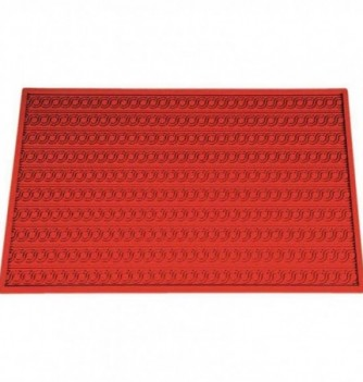 Silicone mat dual S embossed 470x380mm