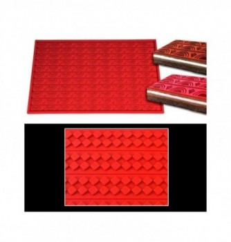 Silicone mat - Losanges pattern - 570x80mm