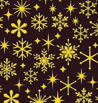 Chocolate transfer sheets x10 - Snow flakes - 360x250mm