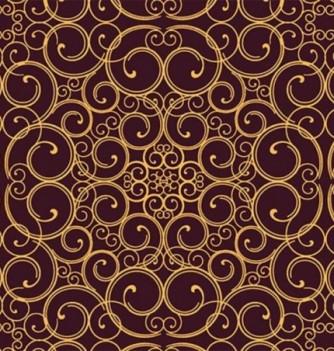 10 Chocolate transfer sheets Arabesque