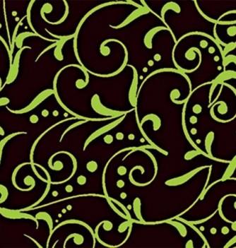 Chocolate transfer sheets x10 -Arabesque Leafs - 360x250mm