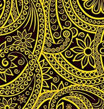 Chocolate transfer sheets x10 -Flowers Arabesque -...