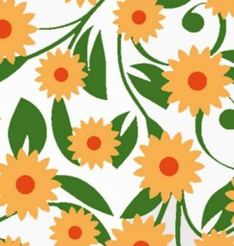 Chocolate transfer sheets x10 -Daisies - 360x250mm