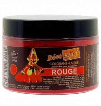 Fat Soluble Food Color - Red - 20 gr