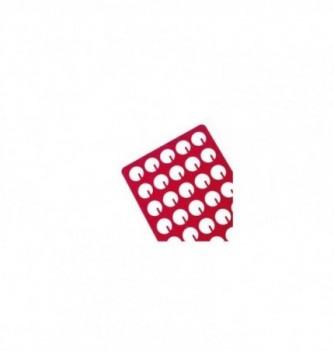 Silicone stencilx35 - round cut shape diam 30mm