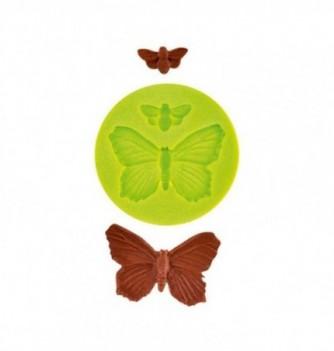 Moule Silicone Papillons 2pcs 45x30mm