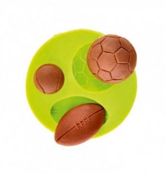 Moule Silicone Ballon de Sport