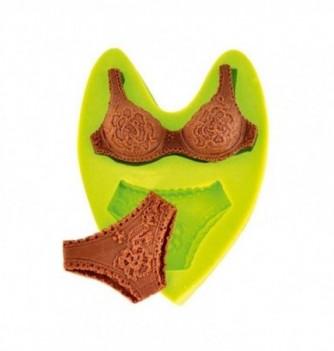 Silicone mold - Underwear (85x65mm) 2 pcs.