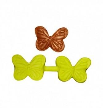 Moule Silicone Papillon à Empreinter 40x35mm