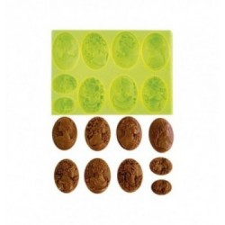 Moule silicone 12 sucettes citrons-50mm-25gr