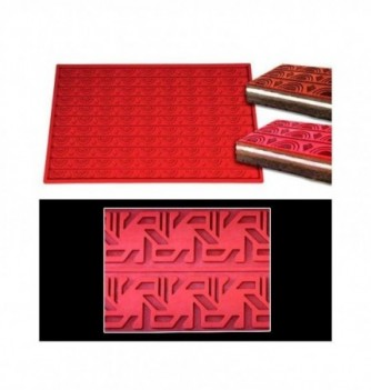 Silicone mat -Geometrical shapes -570x380mm
