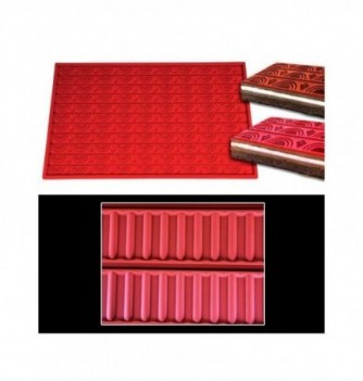 Silicone mat -Stripes -570x380mm