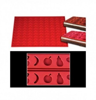 Silicone mat -Fruits -570x380mm