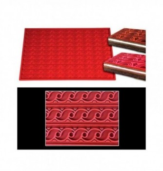 Silicone mat -Waves-570x380mm