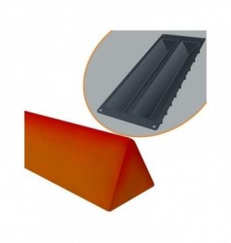 Moule à Bûche Silicone Triangle Grand Modèle