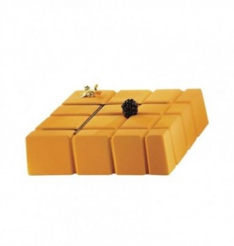 Molds for dessertx10 -Rectangle squared 185x185x45mm