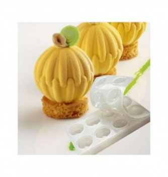 Silicone mold for spheres dessert -Shellx8 - 55mm