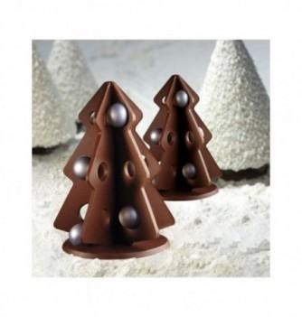Moule Chocolat Sapin de Noël Ajouré
