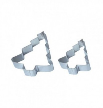 Pastry cutters - 2 Christmas Trees 134x110x25mm -...