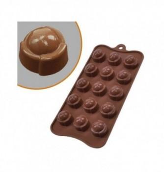 Moule Silicone Chocolat Dôme Bombé