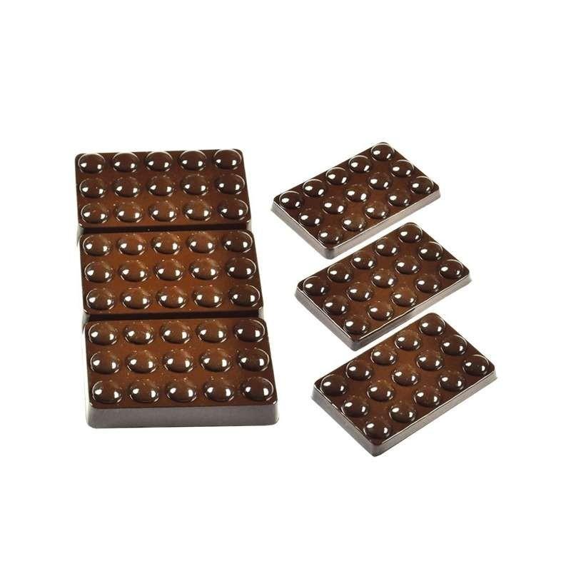 Moule silicone décors 8 ronds -54mm