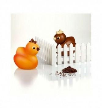Chocolate Mold - Set of 2 Chicks 110x155mm