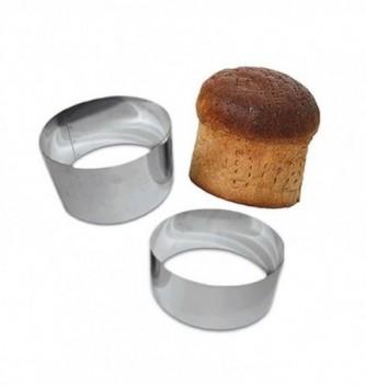 Stainless Steel Ring - Bread - Diam 22 cm h 9 cm