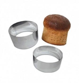Stainless Steel Ring - Bread - Diam 24 cm h 9 cm