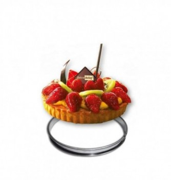 Cercle a Tarte Inox 20cm