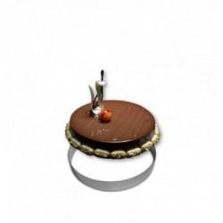 Moule chocolat boitage vigneron-120mm