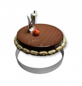 Cercle Mousse Pâtisserie Inox 32cm