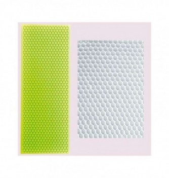 Silicone mold for lace - Honeycomb 255x110mm