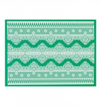Silicone mat for lace - 3 Friezes 300x400mm