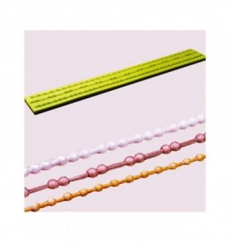 Moule Silicone Frise de Fines Perles